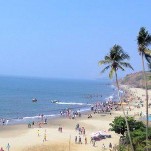 Beachfront of Calangute