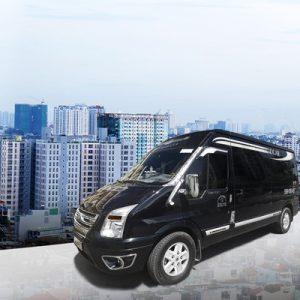 limousine transfer service, exterior