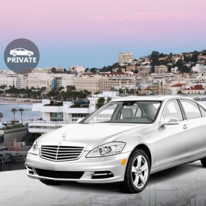 private nice côte d'azur airport transfers for cannes sedan