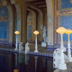 interiors of Hearst Castle