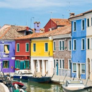waterways of burano