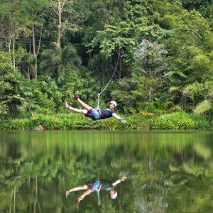 Tree Top Adventure Park 200m Zip Line