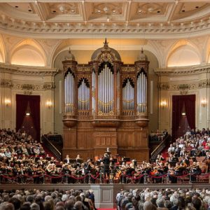 main hall of the Royal Concertgebouw