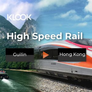 china high speed rail guilin to hk