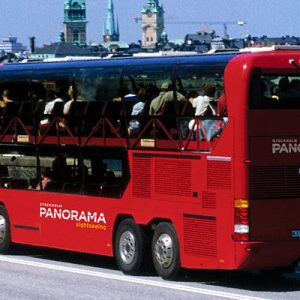 Stockholm Panorama Bus Guided Tour