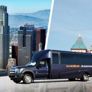 lux bus america to disneyland park anaheim
