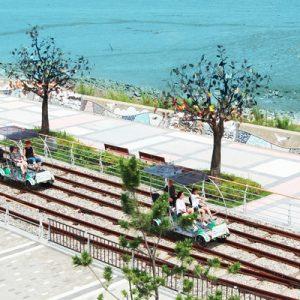 yeongjongdo seaside rail bike park