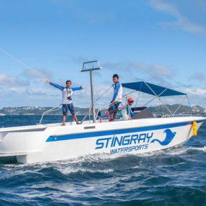 speedboat in boracay