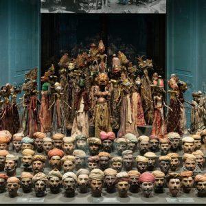 exhibition in Weltmuseum Wien