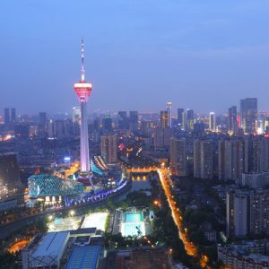 chengdu radio and tv tower ticket