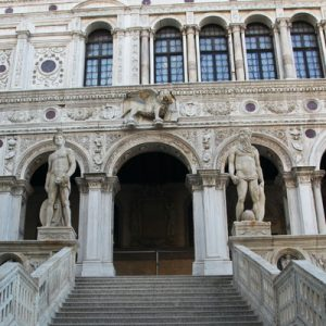 doge's palace courtyard entrance