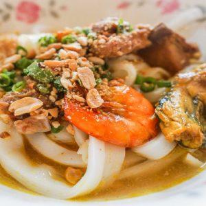 Mi Quang (Vietnamese Turmeric Noodles)