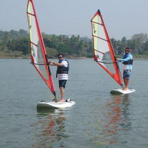 windsurfing activity in goa india