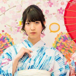 women in colorful kimono