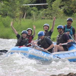 white rafting in kiulu valley