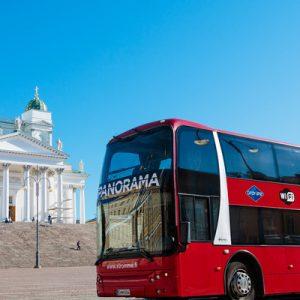 helsinki bus boat tour