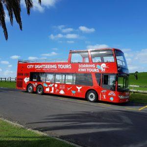 soaring kiwi hop on hop off bus pass christchurch