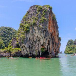 james bond island long-tail boat full day tour krabi