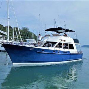 yacht in langkawi