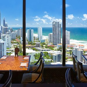 four winds 360º revolving restaurant gold coast