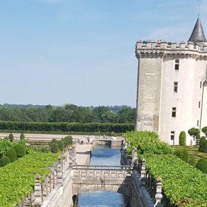 a view of Château de Villandry