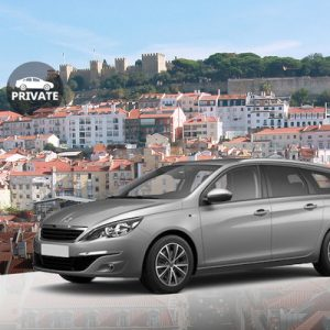grey sedan Private Transfers between Lisbon Airport (LIS) and Lisbon Centre