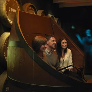 barrel ride in The Scotch Whisky Experience