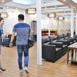 Hangzhou Airport lounge