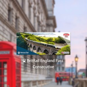 BritRail England Pass (Consecutive 3, 4, 8, 15, 22 Days or 1 Month)