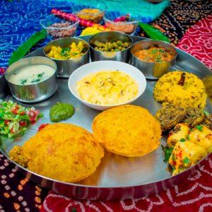 gujarati style meal