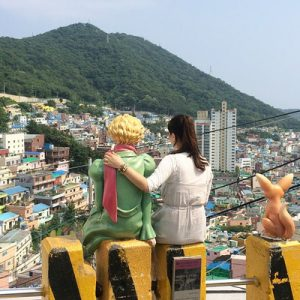 gamcheon wall painting village tour