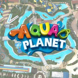 entrance at aqua planet waterpark