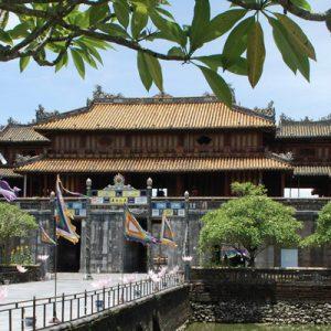 hue imperial city gates