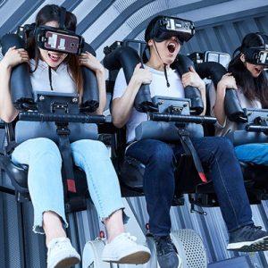 Robot VR in Legend Heroes Park