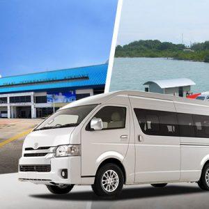 Private Surat Thani International (URT) Airport Transfers for Donsak Pier