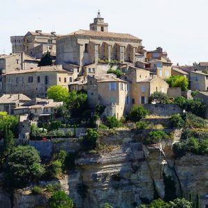 a view of Gordes