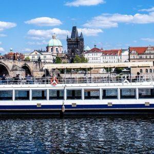 Vltava River cruise boat
