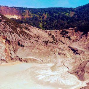 Tangkuban Perahu Volcano Tour from Bandung Indonesia