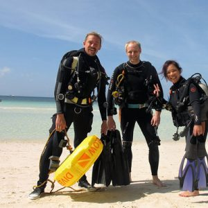 scuba diving boracay island