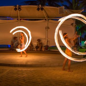 fire dance performances at fiesta resort guam