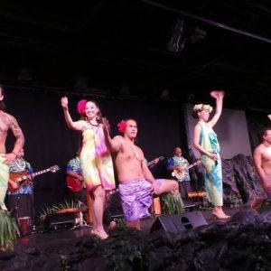 cast of Te Moana Nui Show