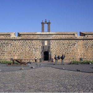 entrance of museo internacional de arte contemporáneo