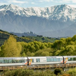 coastal pacific train for picton to christchurch