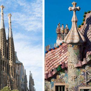 Sagrada Família and Casa Batlló