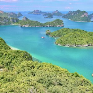tropical islands in thailand