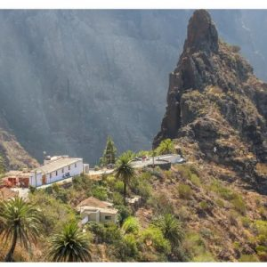 natural landscapes of tenerife near town