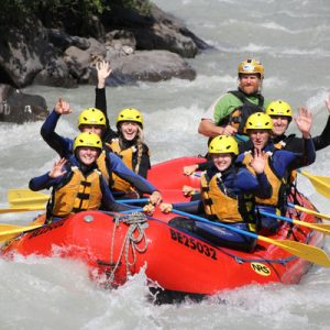 rafting experience in interlaken