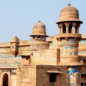 ancient castle in Gwalior