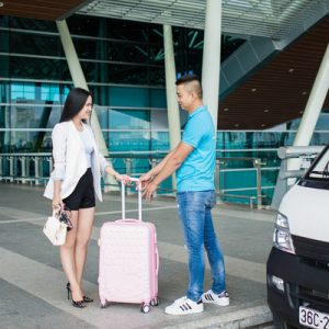 Airport passenger and luggage service provider