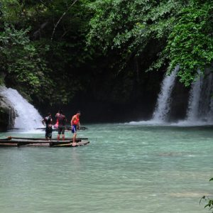 Badian Canyoneering Adventure and Kawasan Waterfalls Join In Tour from Cebu